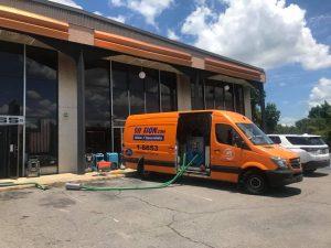 Sewage Removal Van